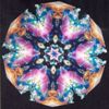 Beautiful kaleidoscope view